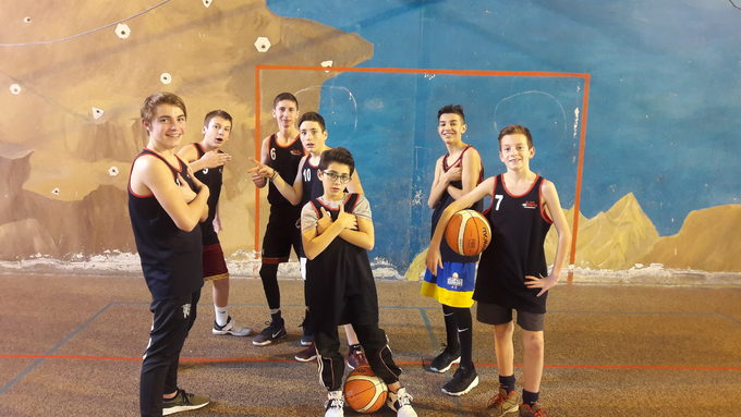 Paul, David, Thomas, Noah, Romain, Paulin et Mathis, tournoi du 24 janvier